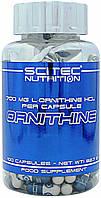 Стимулятор гормона роста Scitec Nutrition Ornithine (100 капс)