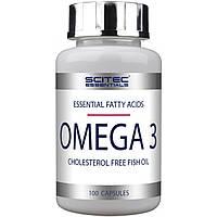 Комплекс незамінних жирних кислот Scitec Essentials Omega 3 (100 кап) (104062) Фірмовий товар!