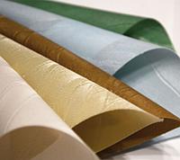 Ткани для тканевых роллет жаккардовые, с теснением,принтом, простые