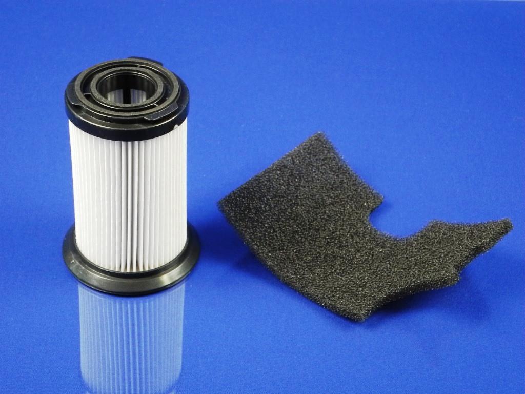 Цилиндрический HEPA фильтр для безмешкового пылесоса + выходной фильтр Zanussi ZAN 18  (9001664656)