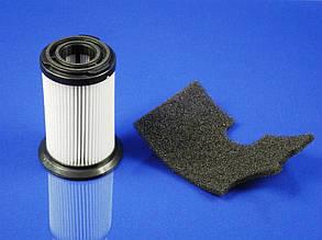 Цилиндрический HEPA фильтр для безмешкового пылесоса + выходной фильтр Zanussi ZAN 18  (9001664656), фото 2