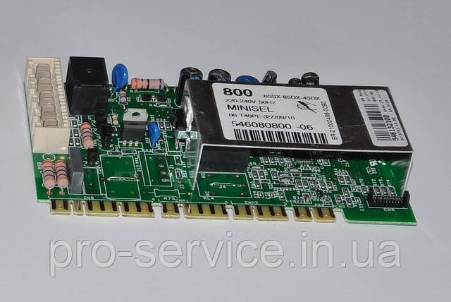 Модуль управления MINISEL  код 546080800 для стиральных машин Ardo TL80E