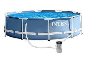Бассейн каркасный Intex 4485л / 366*76 см с фильтром