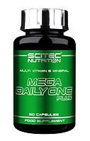 Витаминно-минеральный комплекс Scitec Nutrition Mega Daily One Plus (60 капс)