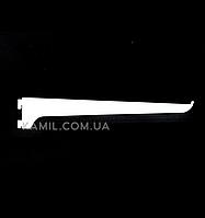 Полкодержатель 40 см в рейку (профиль) белый
