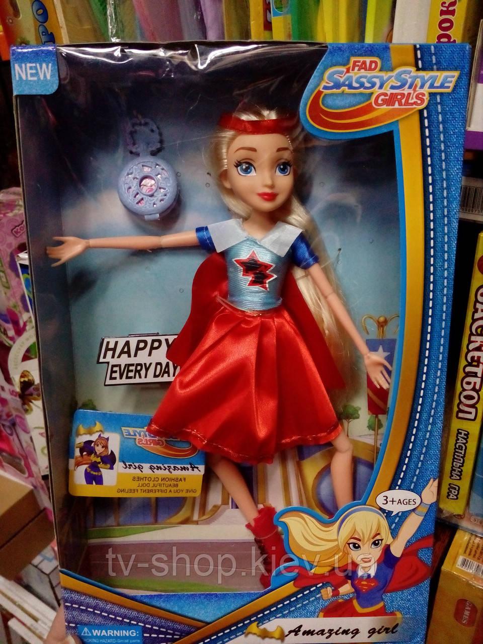 Кукла с  аксессуарами Супердевочка Amazing girl