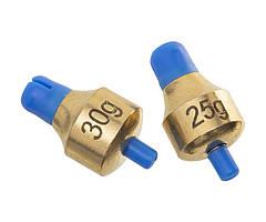 Глубиномер Flagman Push-Button Plummets Set XLarge 25г 30г