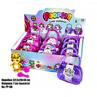 Кукла для девочек модель POOPSIE PP-88, в детской сумочке 2-х цветов:розовый и сиреневый и с аксессуарами.