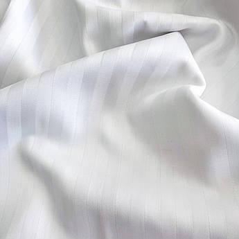 Страйпс-сатин белый 240 см