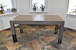 Большой стол из дерева в лофт стиле, фото 5