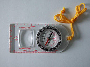 Компас планшетный Sol с увеличительным стеклом, фото 2