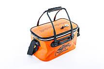 Сумка рыболовная Tramp Fishing bag EVA Orange - M, фото 3