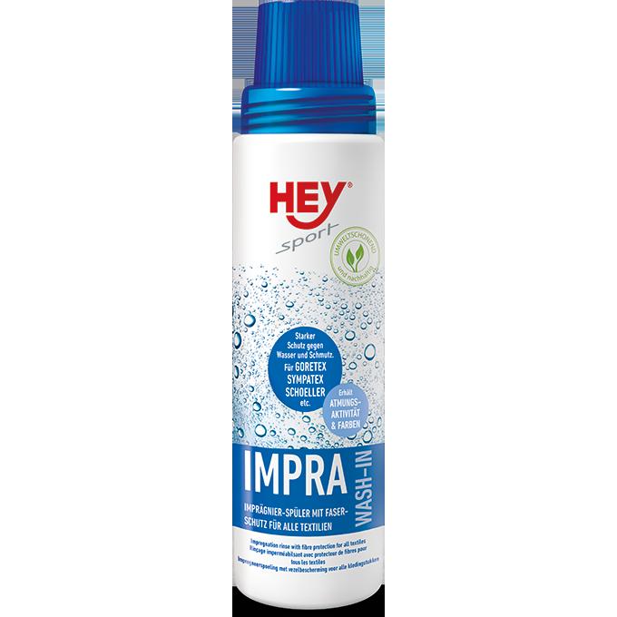 Жидкое средство для защиты одежды от воды и грязи Hey-Sport IMPRA WASH-IN