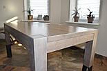 Большой стол из дерева в лофт стиле, фото 7