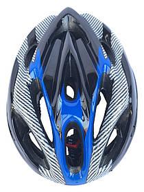 Шолом велосипедний з регулюванням - Синій колір
