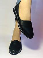 Стильные! Женские туфли -балетки из натуральной кожи Турция. Размер 36,38,41 Супер комфорт.Vellena, фото 2