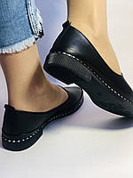 Стильные! Женские туфли -балетки из натуральной кожи Турция. Размер 36,38,41 Супер комфорт.Vellena, фото 4