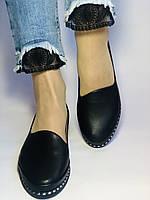 Стильні! Жіночі туфлі -балетки з натуральної шкіри Туреччина. Розмір 36,38,41 Супер комфорт.Vellena, фото 5