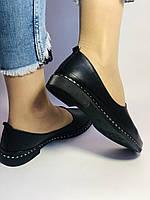 Стильные! Женские туфли -балетки из натуральной кожи Турция. Размер 36,38,41 Супер комфорт.Vellena, фото 6