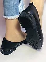 Стильні! Жіночі туфлі -балетки з натуральної шкіри Туреччина. Розмір 36,38,41 Супер комфорт.Vellena, фото 8