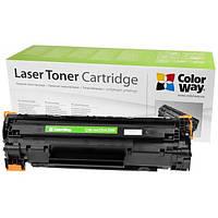 Картридж ColorWay для HP LJ P1005/1505/Can725 + тонер TH-1005 (3шт) (CW-H435/436M/TH-1005)