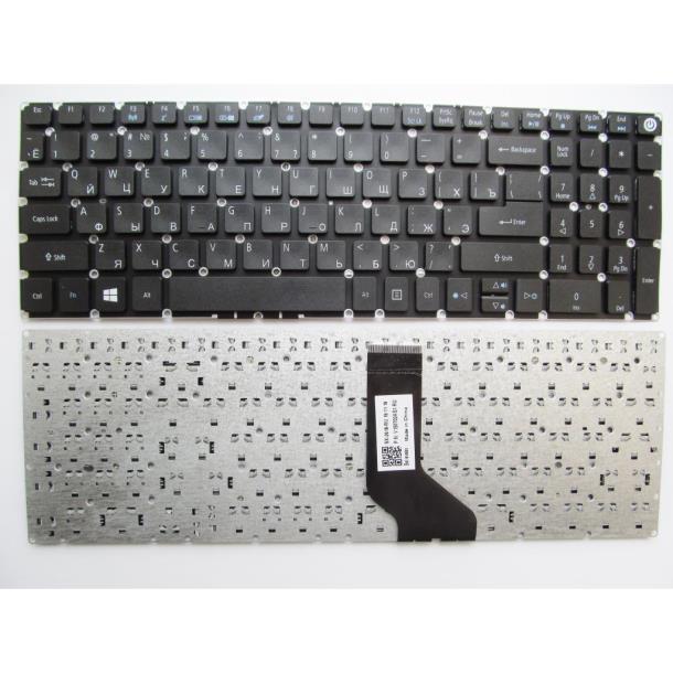 Клавиатура ноутбука Acer Aspire E5-532/E5-573/E5-722/E5-772/V3-574 черная без рамки U (NK.I1517.00K/
