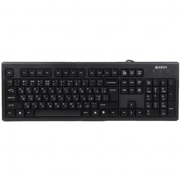 Комплект A4tech KR-8572 USB Black, Китай