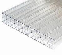 Сотовый поликарбонат усиленный SOTON TITAN (Х/3) 8 мм 2100*6000мм прозрачный, фото 1