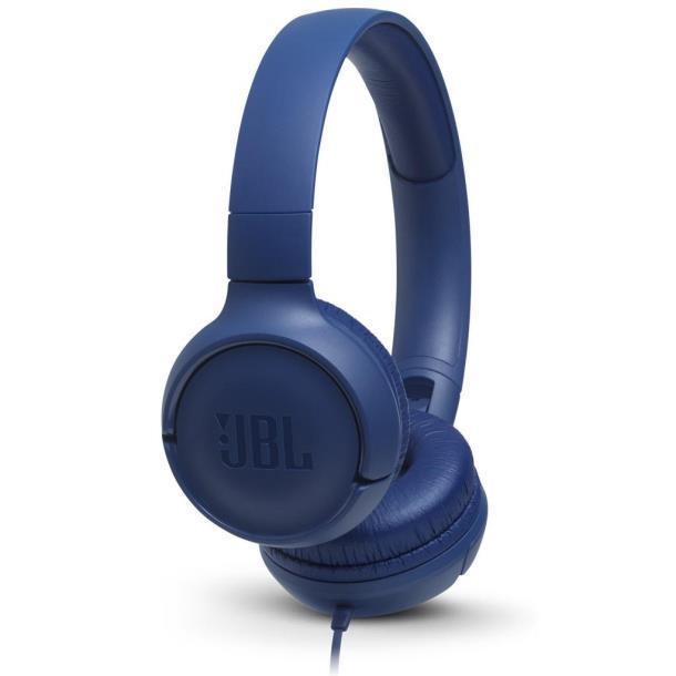 Наушники JBL T500 Blue (JBLT500BLU), Китай