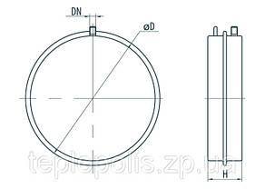 Расширительный компенсационный бак для отопления Sprut FT 8 Ø 324, фото 2