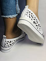 Стильные! Женские туфли -балетки из натуральной кожи Турция. 36, 38,39 40. Супер комфорт.Vellena, фото 5