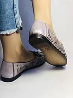 Стильные! Женские туфли -балетки из натуральной кожи 37.38.39. Супер комфорт.Vellena, фото 4