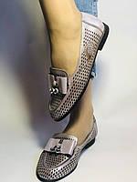 Стильные! Женские туфли -балетки из натуральной кожи 37.38.39. Супер комфорт.Vellena, фото 5