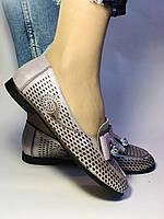 Стильные! Женские туфли -балетки из натуральной кожи 37.38.39. Супер комфорт.Vellena, фото 7