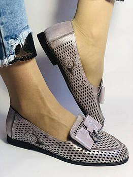 Стильные! Женские туфли -балетки из натуральной кожи 37.38.39. Супер комфорт.Vellena