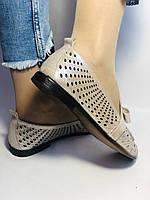 Стильные! Женские туфли -балетки из натуральной кожи 37-39. Супер комфорт.Vellena, фото 5