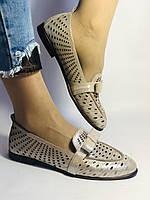 Стильные! Женские туфли -балетки из натуральной кожи 37-39. Супер комфорт.Vellena, фото 2