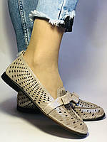 Стильные! Женские туфли -балетки из натуральной кожи 37-39. Супер комфорт.Vellena, фото 6