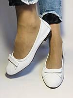 Стильные! Женские туфли -балетки из натуральной кожи 36 38 40. Супер комфорт.Vellena, фото 3