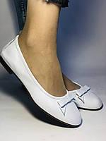 Стильные! Женские туфли -балетки из натуральной кожи 36 38 40. Супер комфорт.Vellena, фото 8