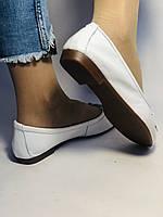 Стильные! Женские туфли -балетки из натуральной кожи 36 38 40. Супер комфорт.Vellena, фото 6