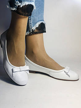 Стильные! Женские туфли -балетки из натуральной кожи 36 38 40. Супер комфорт.Vellena