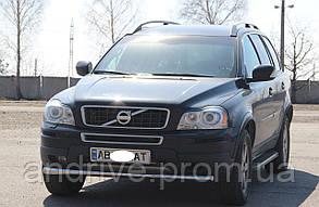 Захист переднього бампера (ус одинарний) Volvo XC90 2002-2014