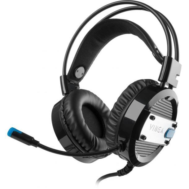 Наушники Vinga HSC065 Gaming Black (HSC065BK)