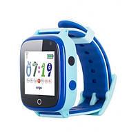 Смарт-годинник Ergo GPS Tracker Color C020 - Дитячий трекер (Blue) (GPSC020B)