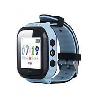 Смарт-годинник Ergo GPS Tracker Color J020 - Дитячий трекер (Blue) (GPSJ020B)