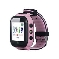 Смарт-годинник Ergo GPS Tracker Color J020 - Дитячий трекер (Pink) (GPSJ020P)