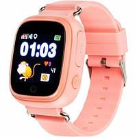 Смарт-часы Gelius Pro GP-PK003 Pink Детские умные часы с GPS трекером (Pro GP-PK003 Pink)