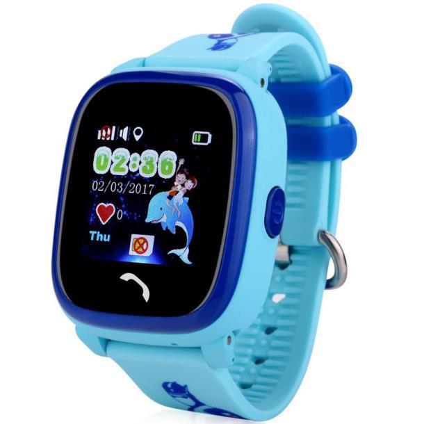 Смарт-часы UWatch DF25 Kids waterproof smart watch Blue (F_52338)