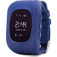Смарт-годинник UWatch Q50 Kid smart watch Dark Blue (F_50514)